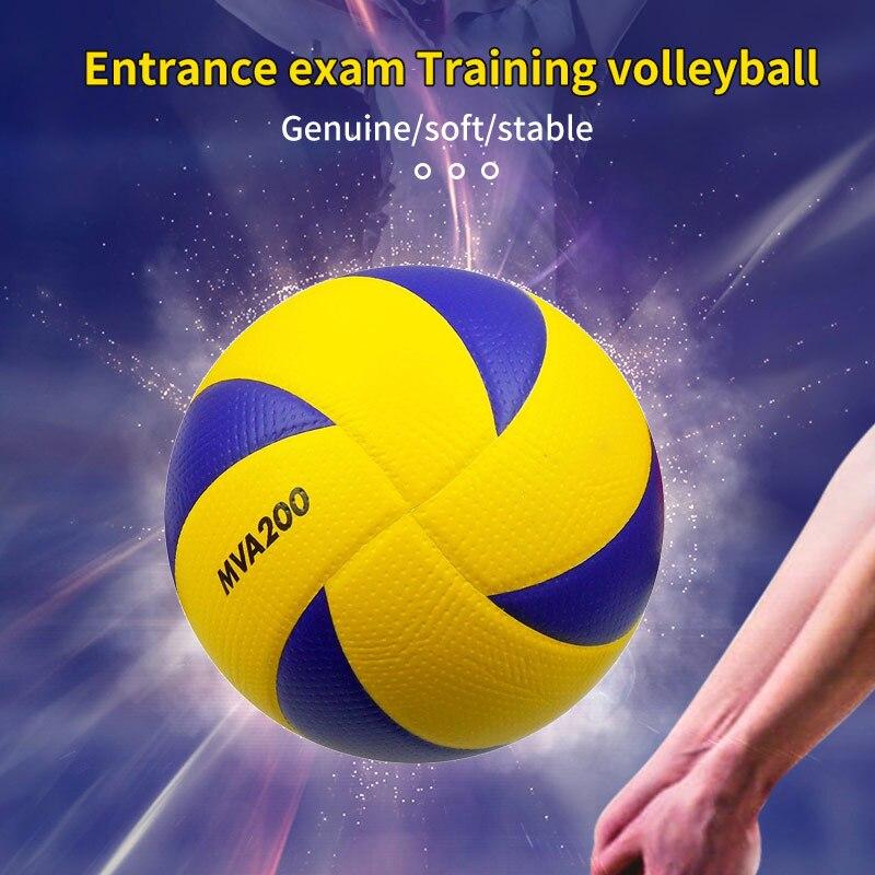 Новый фирменный Размер, мягкий касаться волейбол, официальная игра из ПУ, мячи для волейбола, высококачественные шарики, портативное тренир...
