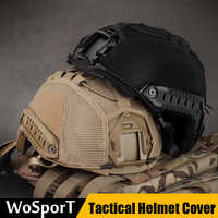 Tactical Military Helmer Cover Airsoft Paintball Wargame Gear Helmet Cloth Protection Helmet Accessories Hunting Shooting Game