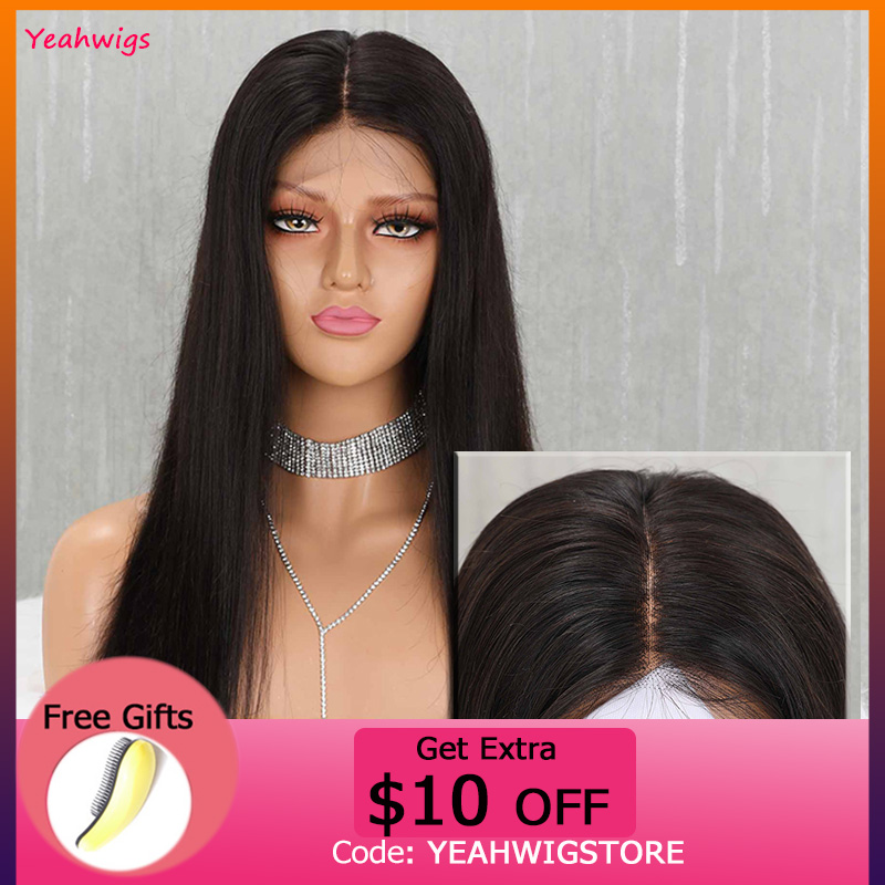13*4 HD Swiss Lace Transparent Lace Wigs Preplucked Remy Straight Lace Front Wig With Baby Hair