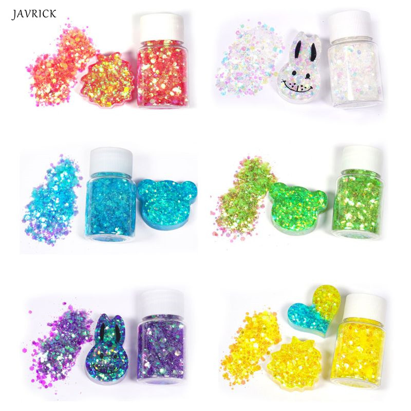 Shiny Mixed Glitter Sequins DIY Crystal Epoxy Resin Mold Fillings Jewelry Making Accessories