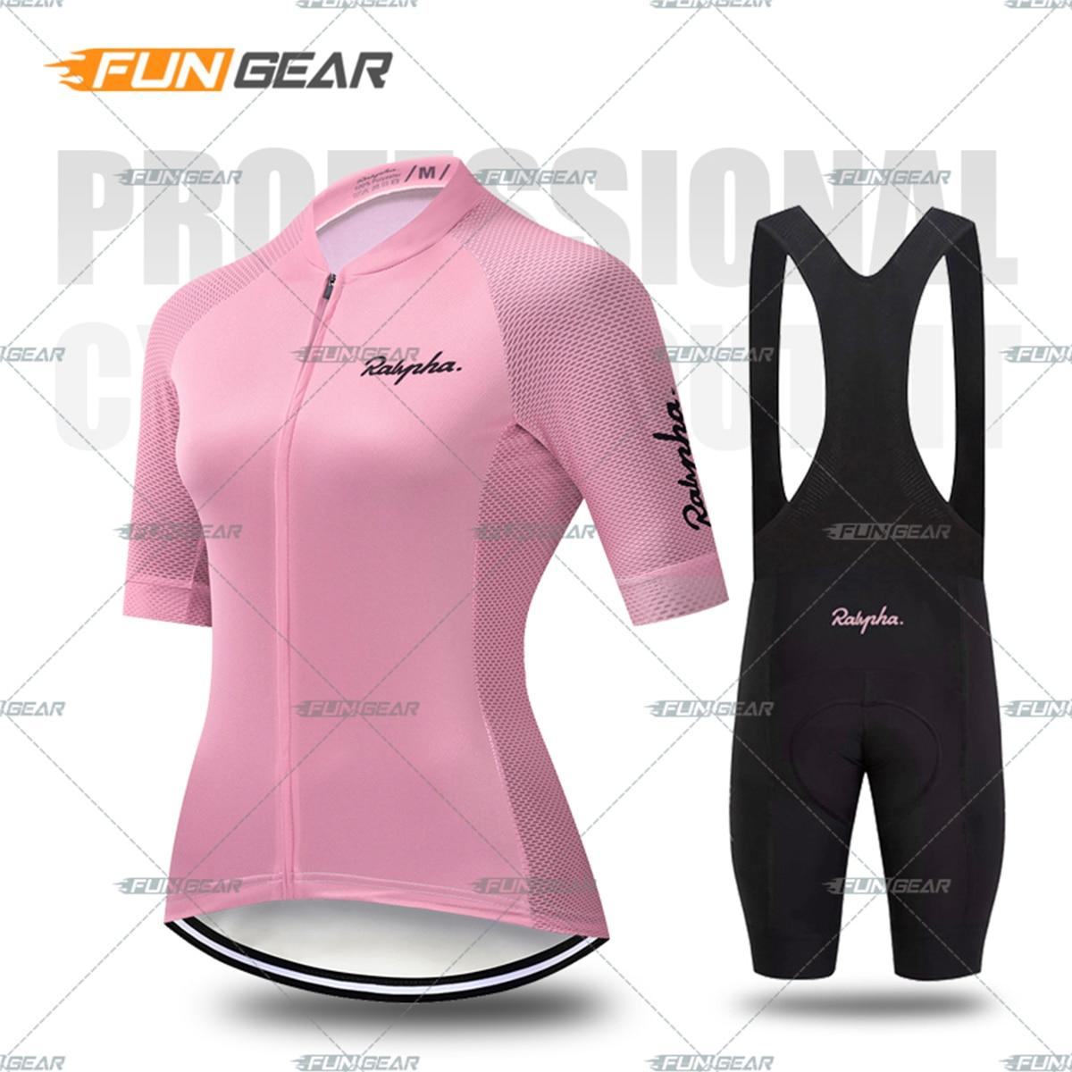 Kobiety odzież rowerowa koszulka na rower zestaw kobiet MTB Ropa Ciclismo dziewczyna cykl odzież na co dzień szosowe Bib krótkie spodnie Pad 7 kolorów