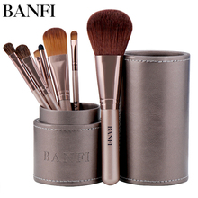 7pcs/set Makeup Brushes Set Profesional Foundation Blusher Eyeshadow Lips Make up Brush Beauty Cosmetic Set Kit pincel maquiagem