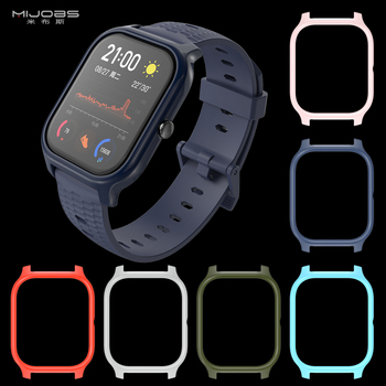 цена на For Amazfit GTS Case TPU Protective Frame Bumper for Xiaomi Huami Amazfit GTS Smart Bracelet Plastic PC Protector Cover Cases