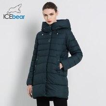 GWD18089I 新冬の女性のジャケット高品質パーカーコートカジュアル女性の服の女性コート冬アパレル ICEbear 2019