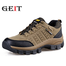 High Quality Unisex Hiking Shoes Leather Outdoor Shoes Mens Trekking Mountain Woman Climbing Athletic Shoes Men Hunting Boots все цены