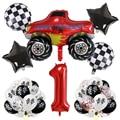 Вспыш и чудо-машинки», количество воздушных шаров комплект на день рождения, вечерние аксессуары для мальчиков душа ребенка гоночный автом...