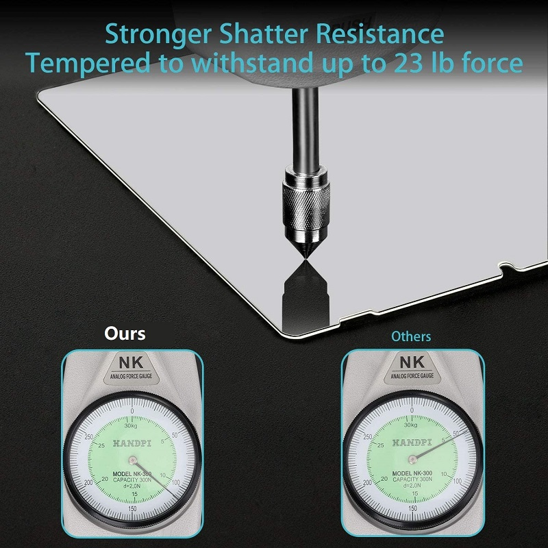 strong shatter resistance
