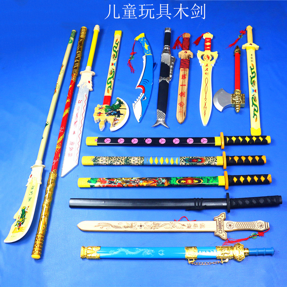 Children s toys wooden bamboo knife sword toy sword wooden knife sword axe toys for kids