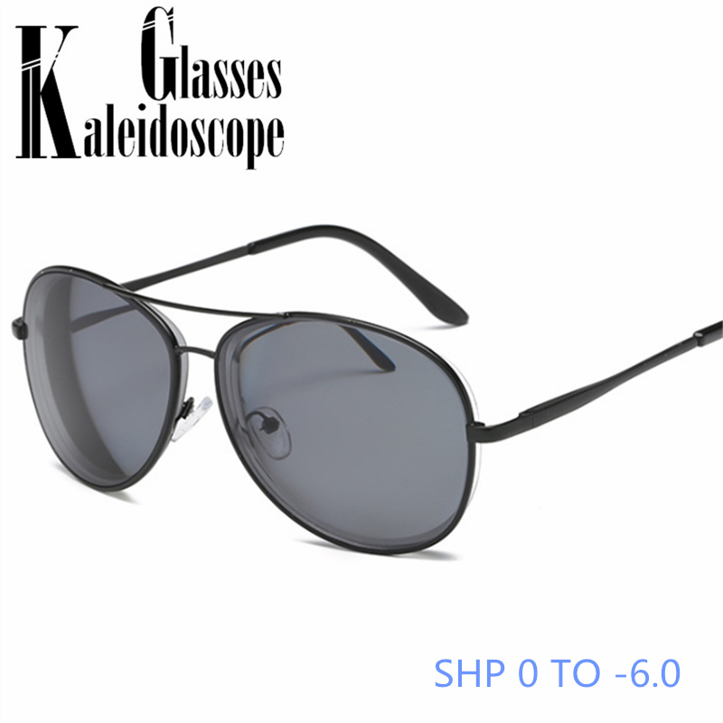 Myopia Sunglasses With Diopter Women Men Classic Driving Sun Glasses Finished Shortsighted -1.0 -1.5 -2.0 -2.5 -3.0 -3.5 -4. 0