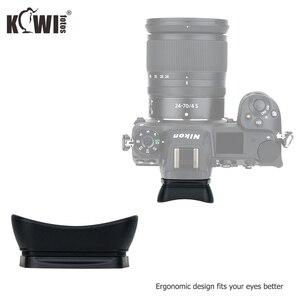 Image 5 - Kiwi Soft Silicone Extended Camera Eyecup Viewfinder Eyepiece For Nikon Z5 Z7 Z6 Z6II Z7II Long Eye Cup Eyeshade Replaces DK 29