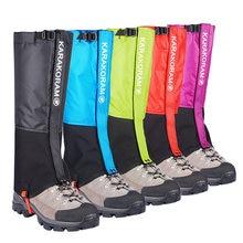 Polainas de pierna de nieve impermeables para senderismo, botas, zapatos, calentador, cubierta de zapato de serpiente, turismo, acampada al aire libre, Trekking, escalada, caza
