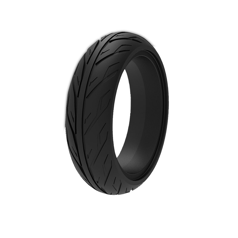 Купить с кэшбэком 1PC 8X2.125 XiaoMi Ninebot ES1 ES2 Honeycomb Shock Absorber Solid Tire Patinete XiaoMi Qicycle Airless Stab-resistant Ever Tyre