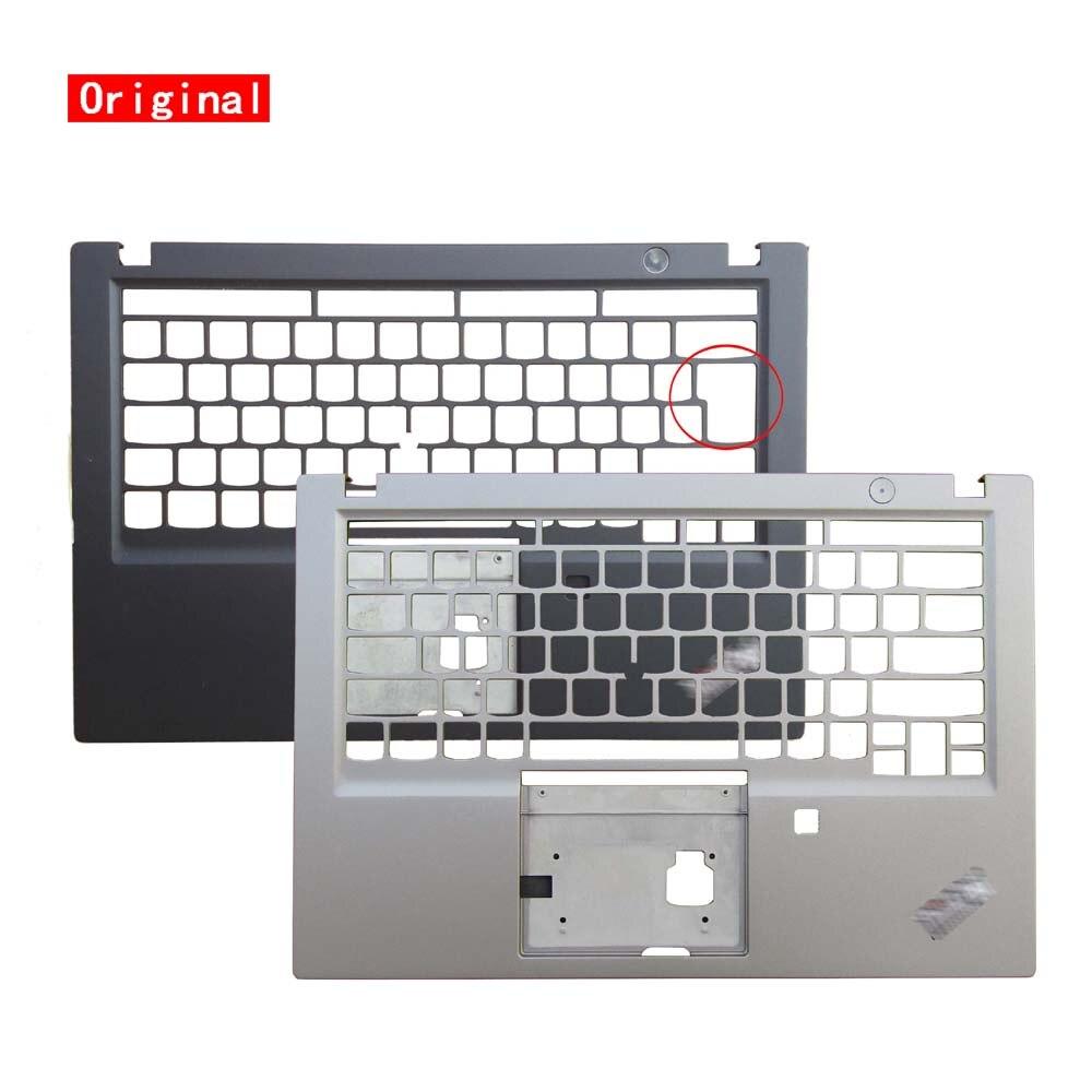 Novo original am1br000500 am1br000410 para lenovo thinkpad t490s palmrest teclado bezel caso superior capa chassis escudo