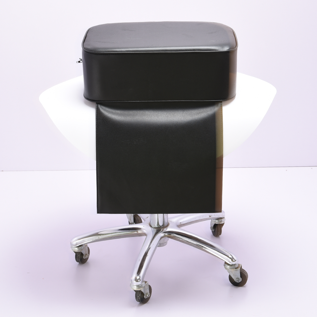 Barber Chair Child Booster Seat Cushion For Children Hair Cutting Styling Shampoo Beauty Salon Spa Equipment - Black