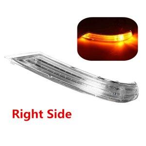 Image 3 - שמאל/ימין צד מראה אחורית LED להפוך אות אור מנורת חיווי אמבר 12V עבור פולקסווגן טוארג 2007 2011 7L6949101C 7L6949102C