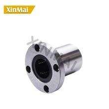 FREE Shipping lmf35uu lmf40uu flange mount linear bearing flanged linear ball bearings nickel mounted linear ball bearings цены