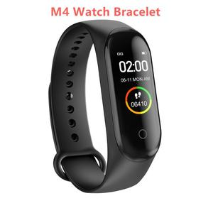 M4 Waterproof Smart Band Sport Bracelet Pedometer Fitness Tracker Heart Rate Blood Pressure Bluetooth Health Wirstband Smartband