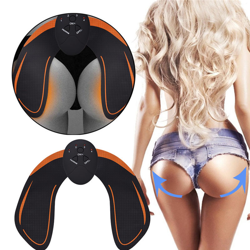 Smart Hips Trainer Slimming Massager Electric Muscle Stimulator Wireless women Buttocks ABS Stimulator Fitness face lift tool