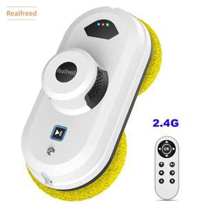 Realfreed 2020 New upgrade, Robot Vacuum Cleaner,Window glass cleaning robot for home