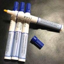 DIY паяльная флюсовая ручка канифоль Экологичная низкая-Твердые очистка- плата сварочная ручка для подключения солнечных батарей 10 мл емкость