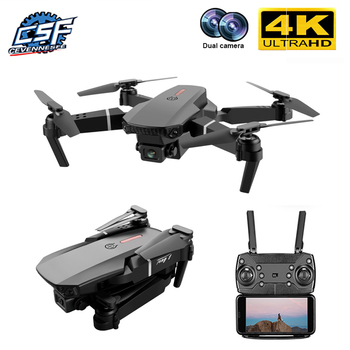 2020 New E88 Pro drone 4k gps with camera hd 4k rc airplane dual-camera wide-angle head remote quadcopter aircrafts child toy