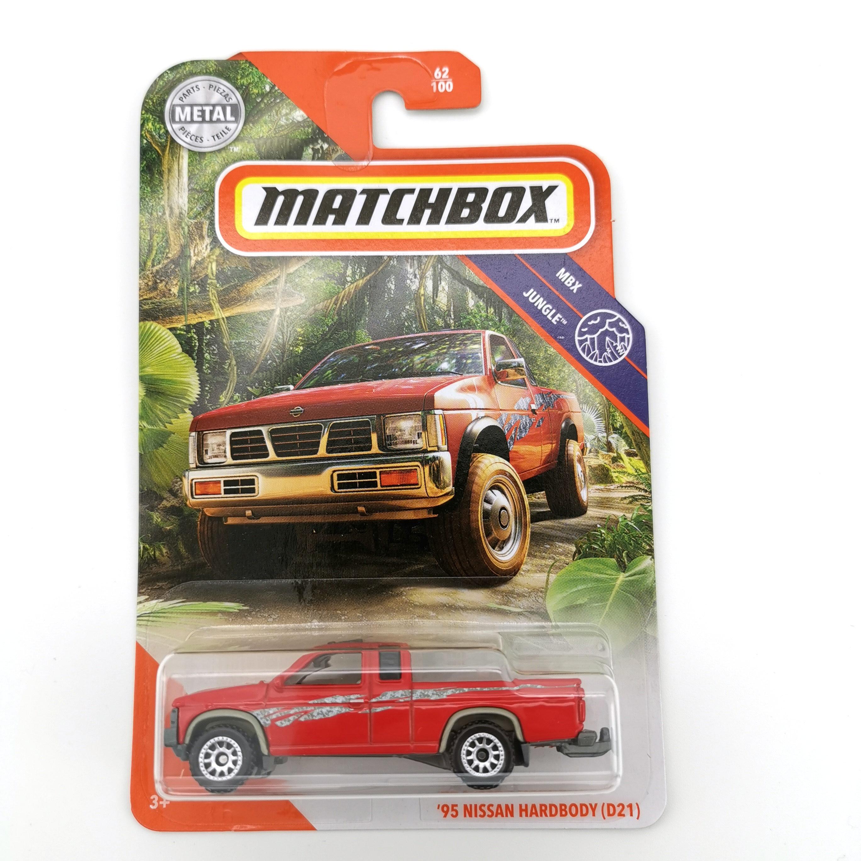 2020 Matchbox Car 1:64 Sports Car 95 NISSAN HARDBODY D21 Metal Material Body Race Car Collection Alloy Car Gift