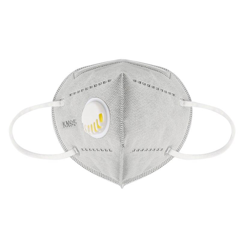1/5/10/20/50/100 pièces KN95 masque facial avec Valve respiratoire masques anti-poussière avec masque facial à Valve équivalent à FFP2 proche de FFP3 2