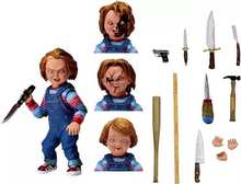 "NECA Chucky Childs Play Mocinhos Final PVC Action Figure Collectible Modelo Toy 4 ""/10cm frete grátis(China)"