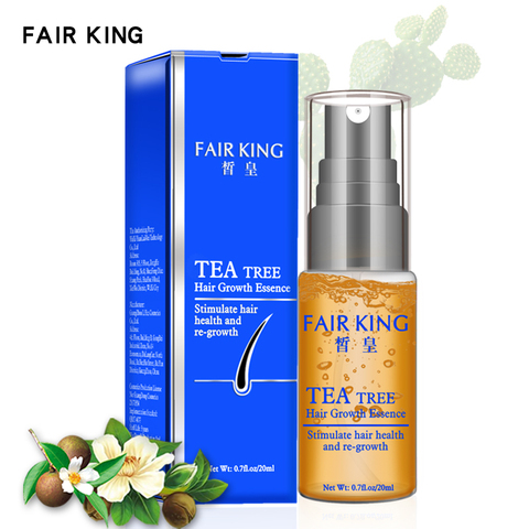 Tea Tree Hair Growth Essence Hair Loss Products Essential Oil Liquid Treatment Preventing Hair Loss Hair Care Products 20ml Islamabad