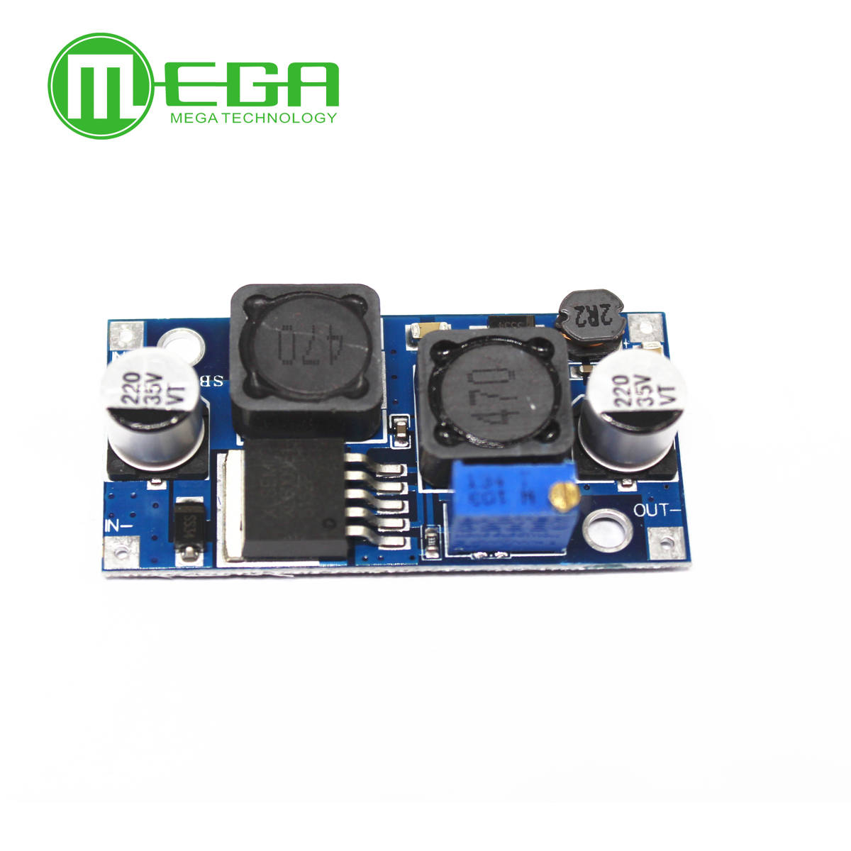 Image 3 - 10pcs Boost Buck DC DC Adjustable Step Up Down Converter XL6009 Power Supply Module  5 32V to 1.2 35V-in Integrated Circuits from Electronic Components & Supplies