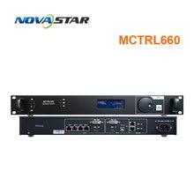 nova mctrl660 led screen controller sending card box work with nova vx4s DVI video processor full color rental led screen