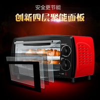 12L multifunctional household baking oven kitchen appliances electric pizza ovens easy bake oven Mechanical Timer Control
