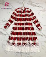 2020 High Quality New Print Dress Concise Feminine taste Temperament Tall Thin Charming Charm Little Princess Dress
