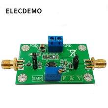 Lm331precision voltage to frequency converter módulo de conversão de frequência de resolução digital de 12 bits 1 hz 10 k
