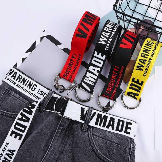 36 style Canvas Belts 4