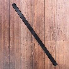 1pc misturado fibra de vidro arco membros preto de alta resistência 30mm x 6mm x 60cm para diy arco tiro com arco caça