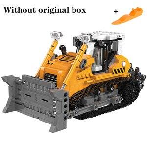 Image 5 - את Offroad טכני XingBao חדש 03038 בניית חופר רכב סט בניין בלוקים לבני צעצועי בני איור חג המולד מתנות