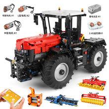 NOUVELLE Construction de Noël des enfants jouet cadeau modèle moc-54812 par BRICOLAGE technologie bloc de Construction en béton armé tracteur