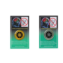 50 قطعة EMF حماية ملصق للهواتف الذكية مكافحة حاجب الإشعاع للهاتف المحمول اللوحي الميكروويف أوقد كتل الحوامل