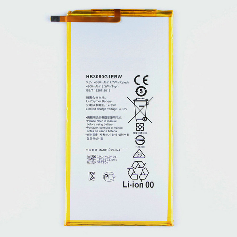 4650mAh-4800mAh Original Battery For Huawei MediaPad T3 10 AGS-L09 AGS-W09 AGS-L03 T3 9.6 LTE Tablet Battery