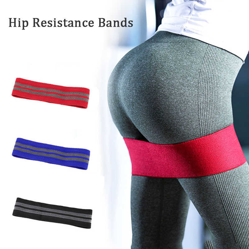 Hip Resistance Bands Booty Elastic Fitness Exercise Bands For Women Fitness Yoga Stretching Training Fitness Workout Equipment