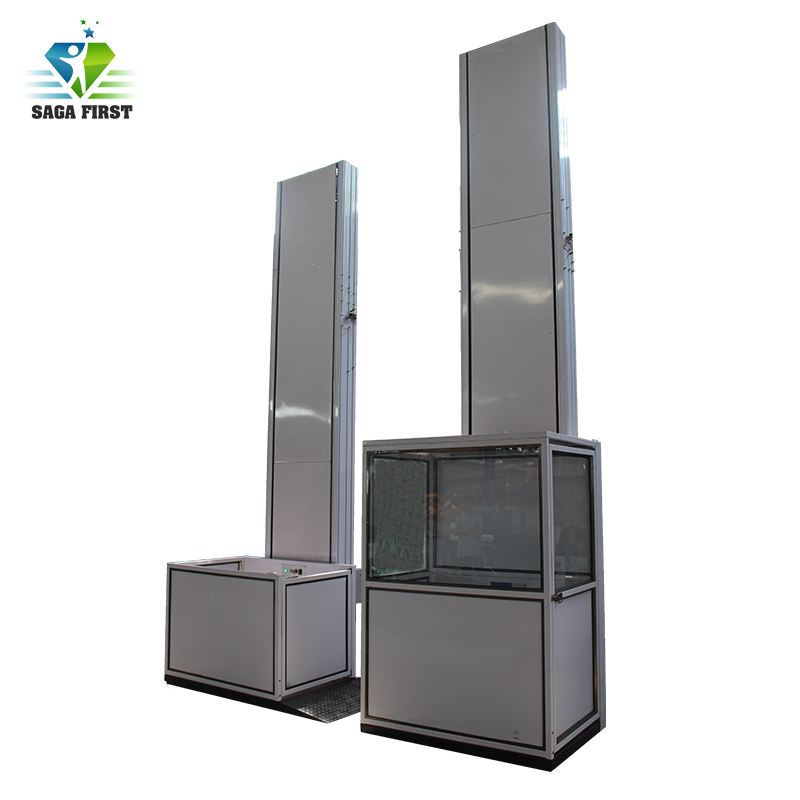 CE Quality Indoor Outdoor Electric Vertical Wheelchair Lift