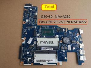 Image 4 - Gratis Verzending Voor Lenovo G50 70 G50 70M Z50 70 G50 80 NM A272 NM A362 Notebook Moederbord I7 4510u I7 4500u 5B20G36670