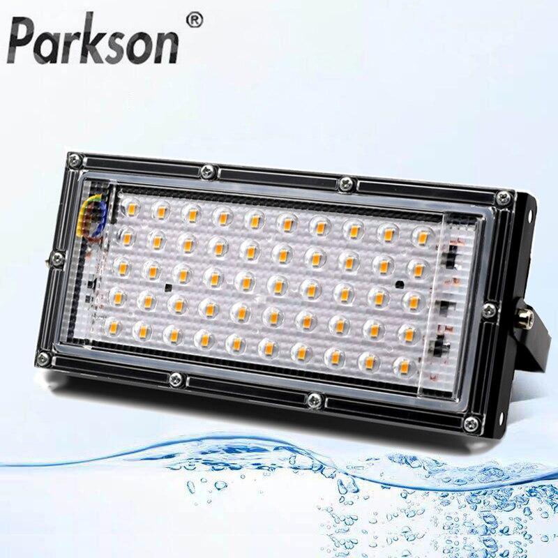 Led FloodLight 50W AC 220V-240V Waterproof IP65 Flood Light Outdoor Spotlight Led Projector Exterieur Spotlight