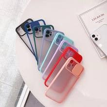 Capa de plástico com janela para iphone, proteção ultrafina, fosca, com buraco para câmera, para iphone 12 pro max/12 mini/11 pro max/xs max/xr, 100 peças