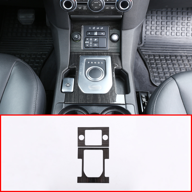 F/ür Discovery Sport Carbon Faser Luxus Innen Zubeh/ör Gear Shift Cover Trim 1