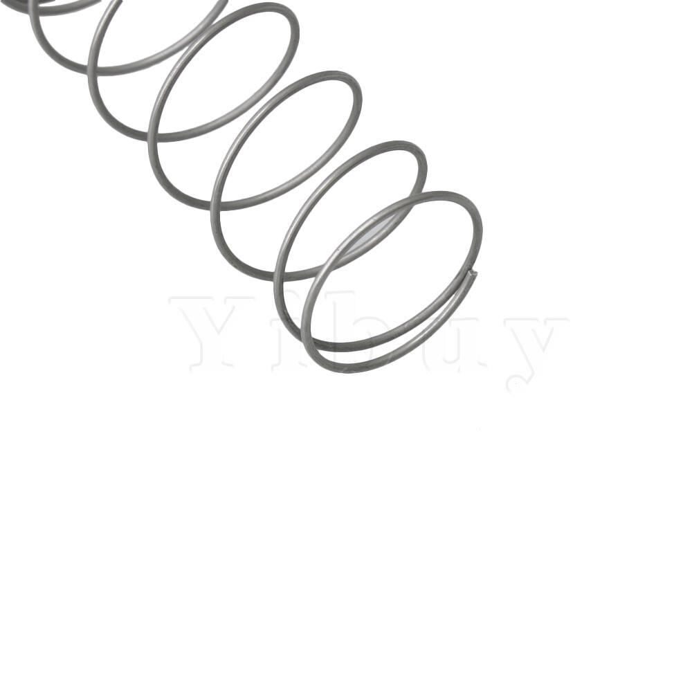 3 шт. Щепка металлическая труба Поршневой клапан пружинный верхний бас bE Baritone