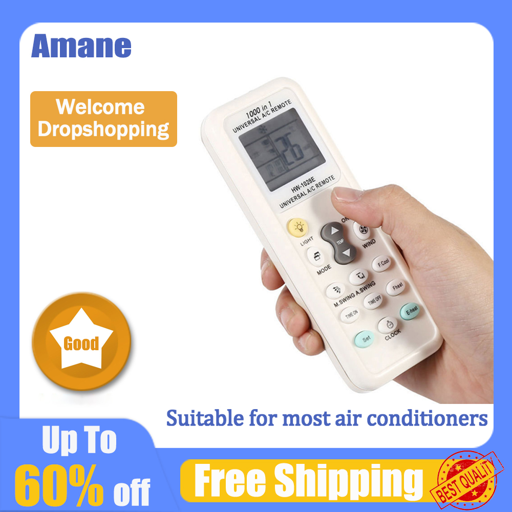 Universal 1000 in 1 K-1028E LCD Low Power Consumption Air Condition  A/C Remote Control Controller