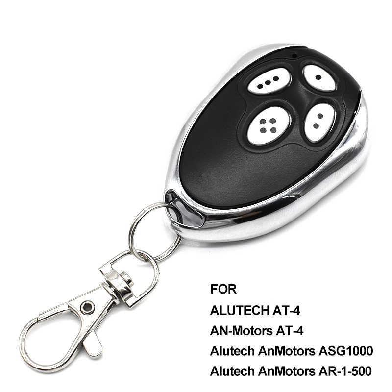 10pcs Gate control Alutech AN-Motors AT-4 garage door opener AT 4 remote controller transmitter rolling code 433.92MHz barrier