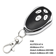 10pcs Gate control Alutech AN Motors AT 4 garage door opener AT 4 remote controller transmitter rolling code 433.92MHz barrier